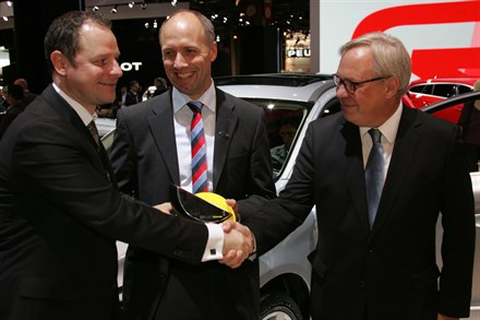 Nouvelle distinction LE VOLVO CITY SAFETY REÇOIT LE LABEL ADVANCE D'EURO NCAP